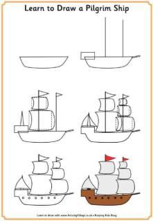 Cara Menggambar Kapal