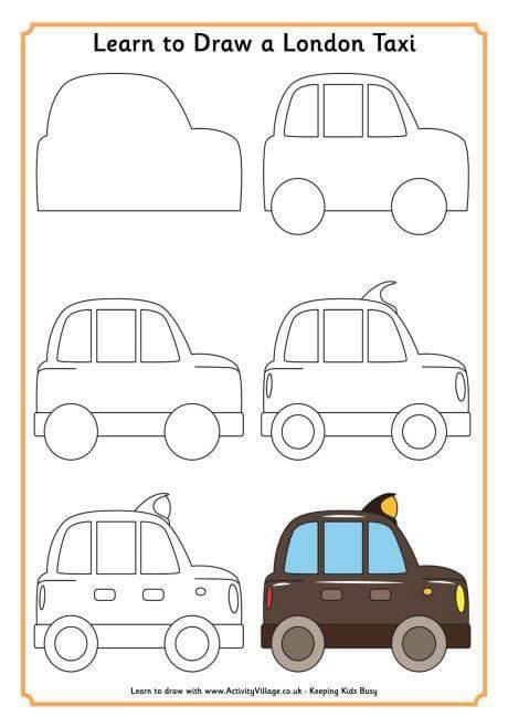 830 Gambar Mobil Untuk Anak Tk Gratis Terbaik
